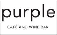 Buy Purple Cafe & Wine Bar Gift Card