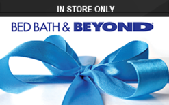 Bed Bath & Beyond (In Store Only) Gift Card - Check Your Balance ...