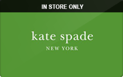 Sell Kate Spade (In Store Only) Gift Card