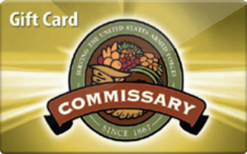 Sell Commissary Gift Card