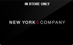 Sell New York & Company (In Store Only) Gift Card
