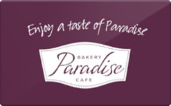 Sell Paradise Bakery & Cafe Gift Card