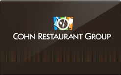 Sell Cohn Restaurants Gift Card