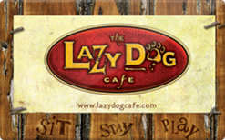 Sell Lazy Dog Cafe Gift Card