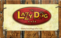 Buy Lazy Dog Cafe Gift Card