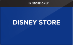 Sell Disney Store (In Store Only) Gift Card