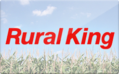 Rural King Gift Card - Check Your Balance Online | Raise.com