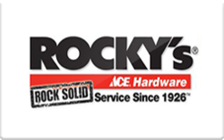 Sell Rocky's Ace Hardware Gift Card