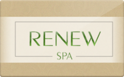 Sell Renew Spa Gift Card