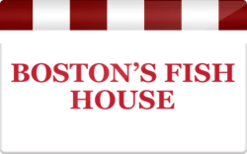 Sell Boston's Fish House Gift Card