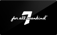 Buy 7 For All Mankind Gift Card
