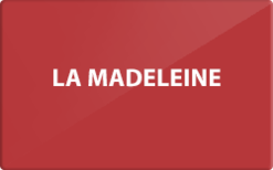 Sell La Madeleine Gift Card