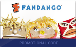 Sell Fandango Promotional Code Gift Card