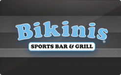 Sell Bikinis Sports Bar & Grill Gift Card