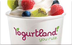 Buy Yogurtland Gift Card