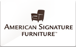 Sell American Signature Furniture Gift Card