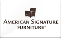 Buy American Signature Furniture Gift Card