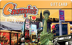 Sell Chompie's Gift Card