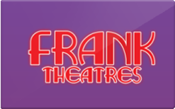 Buy Frank Theatres Gift Card
