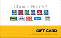 Sell Choice Hotels Gift Card