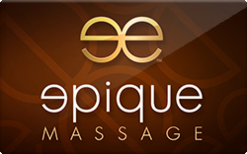 Buy Epique Massage Gift Card