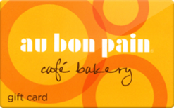Buy Au Bon Pain (Physical) Gift Card