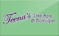 Buy Teena's Day Spa Gift Card
