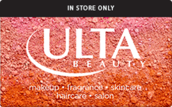 Buy ULTA (In Store Only) Gift Card
