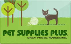 Sell Pet Supplies Plus Gift Card
