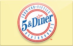 Sell 5 & Diner Gift Card