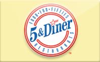 Buy 5 & Diner Gift Card