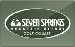 Sell Seven Springs Gift Card