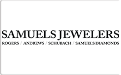 Sell Samuels Jewelers Gift Card