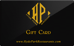 Buy Hyde Park Restaurants Gift Card