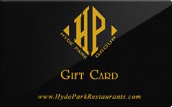 Hyde park group restaurants gift card