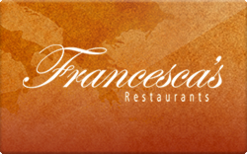 Sell Francesca's Restaurants Gift Card