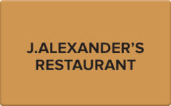 Sell J. Alexander's Gift Card