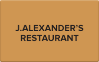 Buy J. Alexander's Gift Card