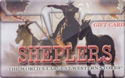 Sell Sheplers Gift Card