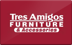Buy Tres Amigos Furniture Gift Card