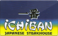 Buy Ichiban Hibachi Steakhouse Gift Card