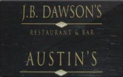 Sell J.B. Dawson's Gift Card