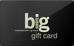 Sell Big Burrito Gift Card
