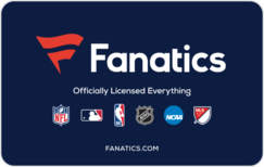 Buy Fanatics Gift Card
