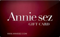 Buy Annie sez Gift Card