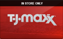 Sell T.J. Maxx (In Store Only) Gift Card