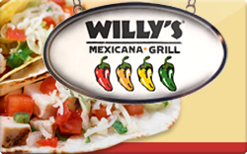 Sell Willy's Mexicana Grill Gift Card