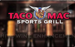 Buy Taco Mac Gift Card