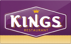 Sell Kings Family Restaurants Gift Card