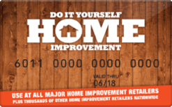 Sell Do It Yourself Home Improvement Gift Card